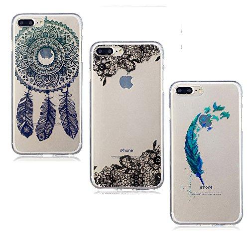 3X iPhone 7 Plus 8 Plus Case, E-Unicorn Apple iPhone 7 Plus 8 Plus ...