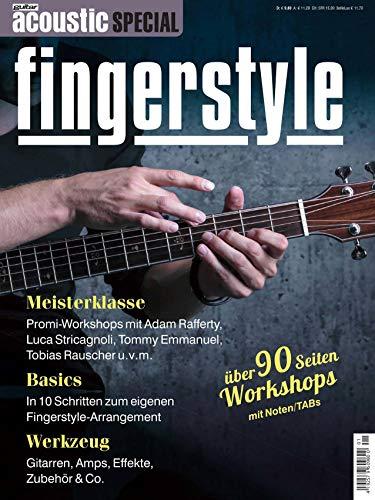 Akustikgitarre Fingerstyle - mit über 90 Seiten Workshops Noten und TABs