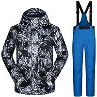 Jiuyizhe Chaquetas y Pantalones de esquí de Nieve para Practicar Senderismo al Aire Libre (Color : 01, Size : XXL)