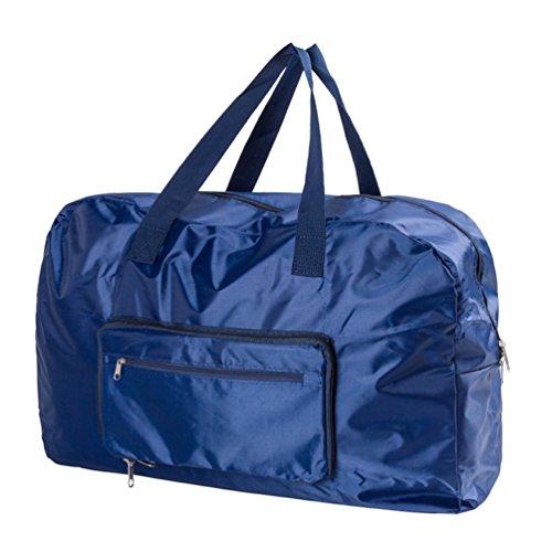 Dexinx Reise Tragbar Kleidertaschen Packing Cubes Organizer mit Wäschebeutel Kosmetik Aufbewahrungstasche Navy Blau