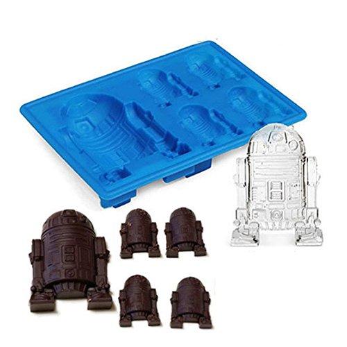 Ice Cube Tablett Star Wars Schokolade Jelly Candy Seife Kuchen Form zufällige Farbe (1 pc) ()