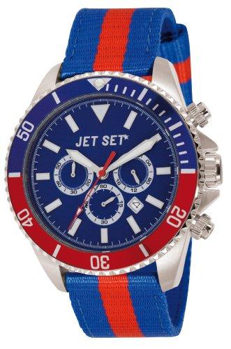 Jet Set Herren Chronograph Quarz Uhr J21203-17