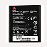 Batería Original de Huawei HB5V1HV 3,8V 2020mAh para Huawei Ascend W1 Y300 Y500 U8833 Y900 T8833