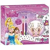 Disney Princess Tatoo n Nail Fashion