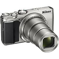 Nikon Coolpix A900Digitale Kompaktkamera, 20,3Megapixel, Zoom 35x, VR, Filme 4K UHD, Bluetooth, WLAN, Silberfarben