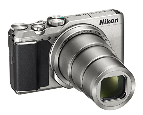 Nikon Coolpix A900Digitale Kompaktkamera, 20,3Megapixel, zoom 35x, VR, Filme 4K UHD, Bluetooth, WLAN, silber [Nital Card: 4Jahre Garantie]