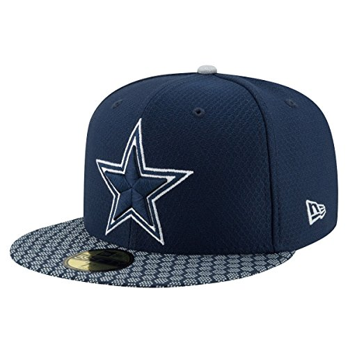 New Era Cap blau 7 3/8 - Männer Für Cowboys Sweatshirts Nfl