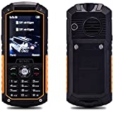 RUNZU M8 2G GMS Dual SIM Outdoor Rugged Mobile Phone,2.4 inch Display,Unlocked,IP68 Waterproof,Shockproof,Dust Proof Cell Phone with Loud Speaker and Torch