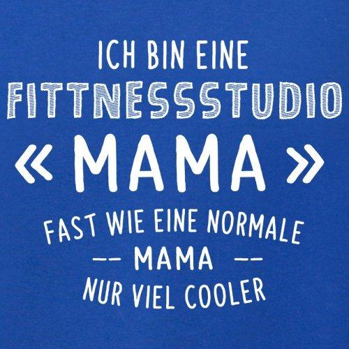Ich bin eine Fitnessstudio Mama - Damen T-Shirt - 14 Farben Royalblau