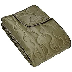 51d2Rd2kYZL. SS300  - Mil-Tec Poncho Liner quilted blanket with bag 210x150 cm