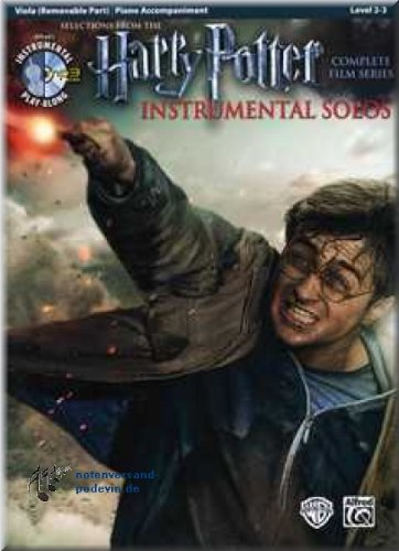 Harry Potter Instrumental Solos Viola - Selections from the Complete Film Series - Viola Noten [Musiknoten]