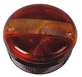 Bajato 2 x Runde Hinten Schwanz LKW-anhänger Licht metallunterteil 24V- 11006102