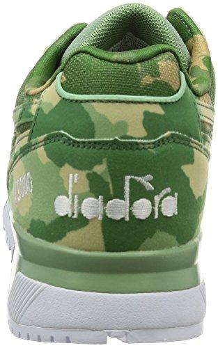 Diadora N9000 Camo, Sneaker a Collo Basso Unisex – Adulto 70201 VERDE GOLF CLUB