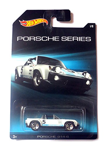 Hot Wheels Porsche Series Porsche 914-6 Convertible weiß 1:64 (Porsche 914 Modell)
