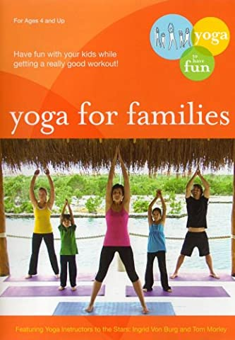 Yoga for Families: Connect With Your Kids [Import USA Zone 1]
