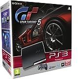 Console PS3 320 Go noire + Gran Turismo 5 (compatible 3D)