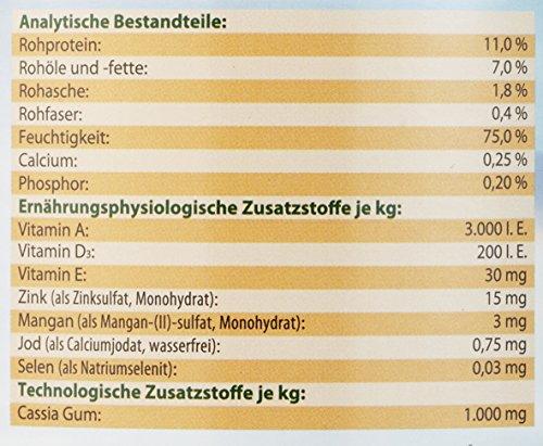 Dehner Best Nature Hundefutter, Adult Lamm und Kartoffeln mit Petersilie, 6 x 800 g (4.8 kg) - 2