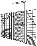 Tür / Tor für Wildzaun Wildzauntor Forstzaun Zauntor Knotengeflecht 1m breit