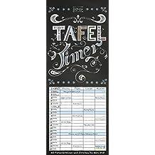 Tafel Timer 2017: Familientimer mit Ferienterminen und Vorschau bis März 2018