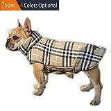 ThinkPet Reversible Perro Abrigo de invierno chaqueta de invierno para perro, Plaid