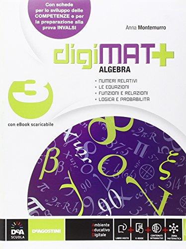 Digimat +, Aritmetica-Geometria-Quaderno competenze. Per la Scuola media. Con e-book. Con espansione online: 3