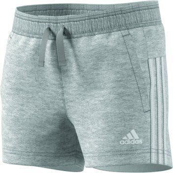 Adidas 3S Shorts, Mädchen, 3S, grau (brgrin / weiß) Preisvergleich