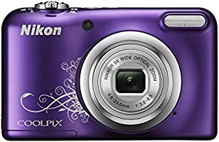 Nikon Coolpix A10 Appareil photo Compact 16 Mpix Violet Lineart