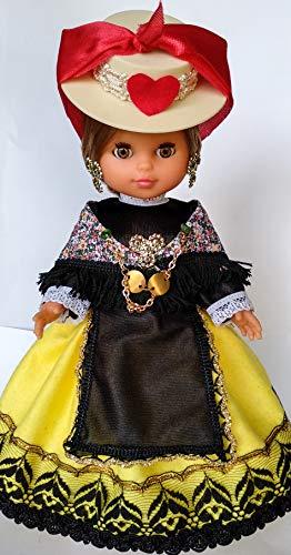 Folk Artesanía Muñeca Serenina Mª Salud 35 cm colección...