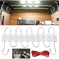 AMBOTHER Lampe Auto LED Ampoule Camping Car Plafonnier 12V Éclairage Blanche