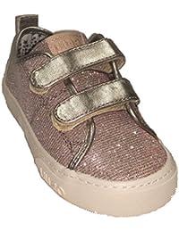 LIU-JO GIRL Sneaker 2 velcri in Tessuto Glitterato Cipria ab628549840