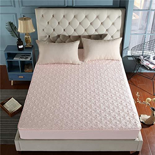 SUYUN Mikrofaser-Spannbettlaken, Super-King-Size-Betten, Baumwolle, Motiv Dream Paris, Elfenbeinfarben/Jade 120 x 200 cm -