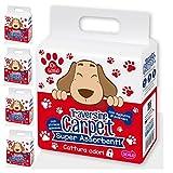 50Traviesas Carpet 60x 60Super Compresas absorbe olores alfombrilla higiénica para perros y gatos