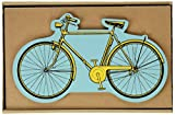 Tücherbox 3403Stifteköcher mit Form Fahrrad gelb