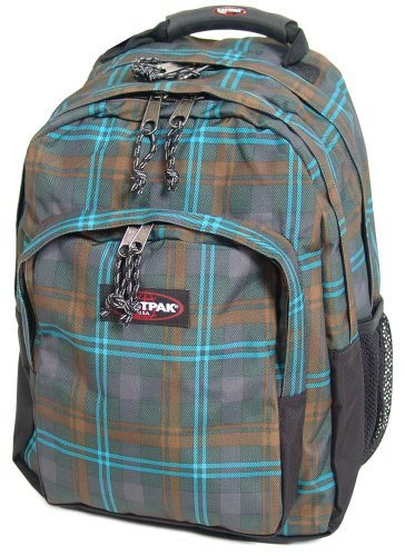 Eastpak Campus Egghead Rucksack 43 cm Laptopfach checked green
