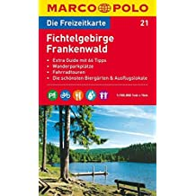 MARCO POLO Freizeitkarte Fichtelgebirge, Frankenwald 1:100.000 (MARCO POLO Freizeitkarten)