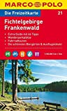 MARCO POLO Freizeitkarte Fichtelgebirge, Frankenwald 1:100.000 (MARCO POLO Freizeitkarten) -