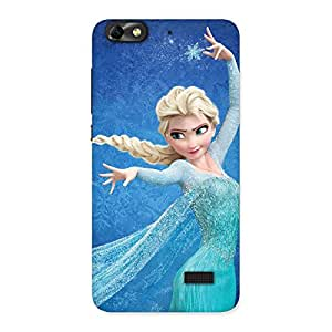 Delighted Angel And Cutness Back Case Cover for Honor 4C
