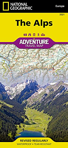 Alps: Travel Maps International Adventure Map