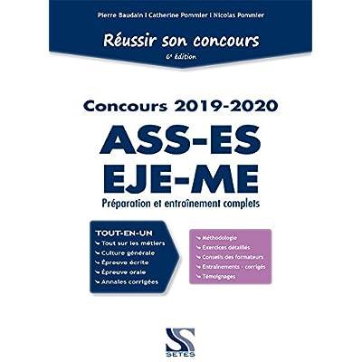 Réussir son concours ASS, ES, EJE, ME 2019-2020 - Tout-en-un