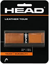 Head Leather Tour - Overgrip, color negro