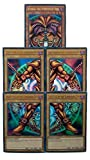 Yu-Gi-Oh! Exodia the Forbidden One – komplettes Fünf-Karten-Set