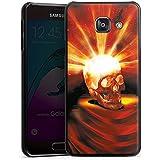 Samsung Galaxy A3 (2016) Housse Étui Protection Coque Tête de mort Halloween Cendre