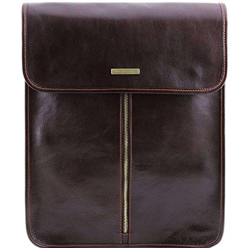 Tuscany Leather, Borsa a spalla uomo Marrone marrone compact