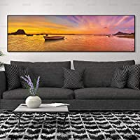 ASDZXC Canvas Painting Picture Sea View Wall Picture Seascape Art Print On Canvas And Posters Picture Wall Art Painting Art Home Decoration