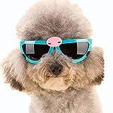 BSJZ Occhiali Di Protezione Per Cani A Forma Di Pet Anti-UV Occhi Impermeabili Occhiali Da Sole Per Cani E Gatti Anti-Nebbia Occhiali Da Sole,Blue
