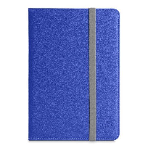 Belkin iPadmini Klassische Schutzhülle mit elastischem Gummiband Verschluss blau -