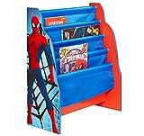 Spider-Man - Hängefach-Bücherregal für Kinder – Büchergestell für das Kinderzimmer