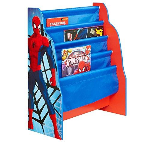 Spider-Man 470SIA Bücherregal, Holz blau 60 x 51 x 23 cm