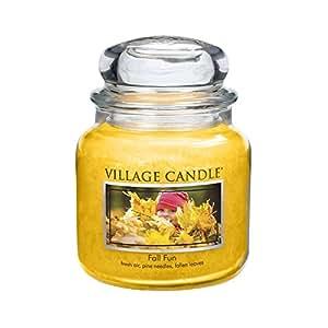Village Candle Bougie Fall Fun Marteau à panne Premium