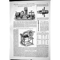 Organizzazione della Fornace Hepton di Gwynne Piat di 1883 del